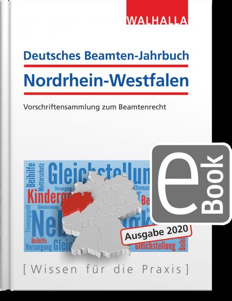 Deutsches Beamten-Jahrbuch Nordrhein-Westfalen Jahresband 2020