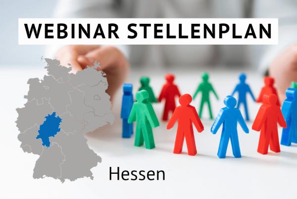 Webinar Der amtliche Stellenplan für Kommunen in Hessen gem. Landesrecht Hessen