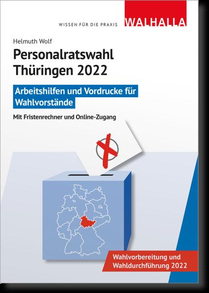CD-ROM Personalratswahl Thüringen 2022