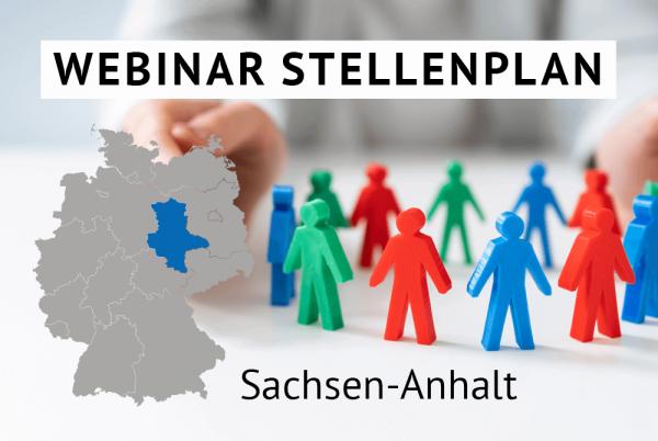 Webinar Der amtliche Stellenplan für Kommunen in Sachsen-Anhalt gem. Landesrecht Sachsen-Anhalt