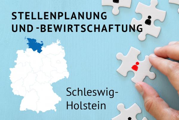 Stellenplanung und -bewirtschaftung gem. der Landeshaushaltsordnung Schleswig-Holstein (LHO)