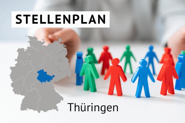 Der amtliche Stellenplan für Kommunen in Thüringen gem. Landesrecht Thüringen