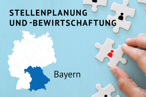Stellenplanung und -bewirtschaftung gemäß der Bayerischen Haushaltsordnung (BayHO)