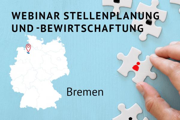 Webinar Stellenplanung und -bewirtschaftung gemäß der Landeshaushaltsordnung für Bremen