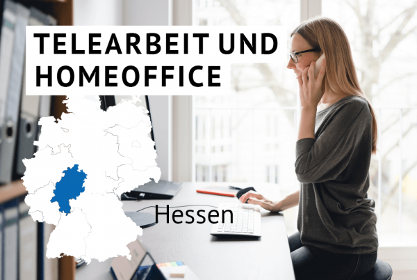 Telearbeit und Homeoffice bei öffentlichen Verwaltungen des Bundeslandes Hessen