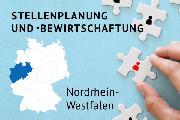 Stellenplanung und -bewirtschaftung gemäß der Landeshaushaltsordnung für Nordrhein-Westfalen