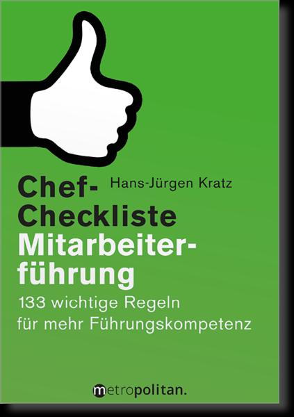 Chef-Checkliste Mitarbeiterführung