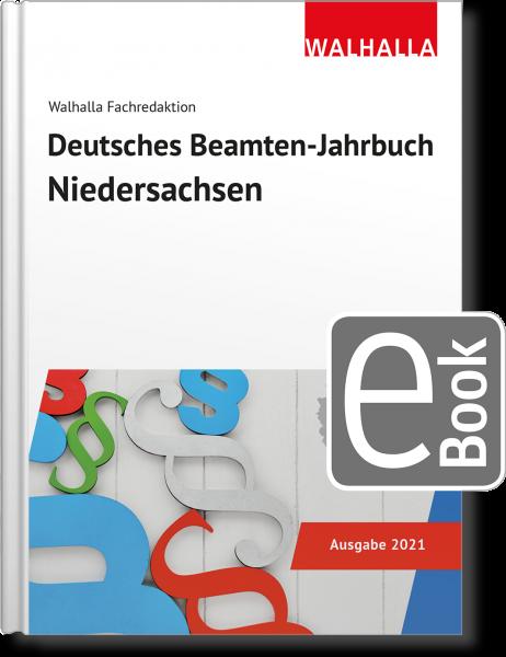 Deutsches Beamten-Jahrbuch Niedersachsen Jahresband 2021