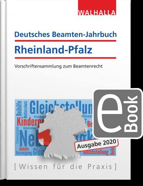 Deutsches Beamten-Jahrbuch Rheinland-Pfalz Jahresband 2020