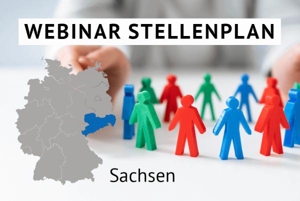Webinar Der amtliche Stellenplan für Kommunen in Sachsen gem. Landesrecht Sachsen