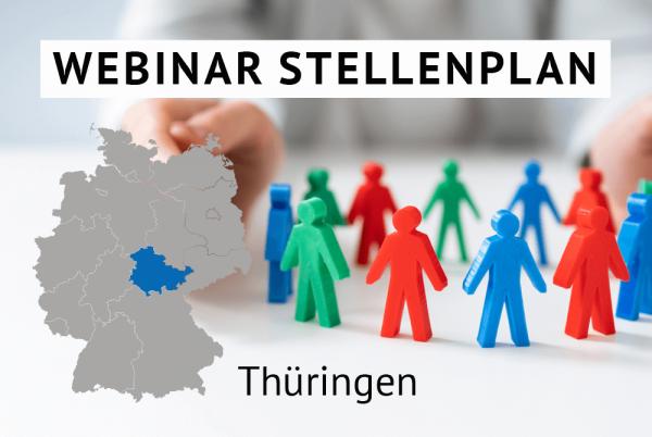 Webinar Der amtliche Stellenplan für Kommunen in Thüringen gem. Landesrecht Thüringen