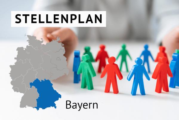 Der amtliche Stellenplan für Kommunen in Bayern gem. Landesrecht Bayern