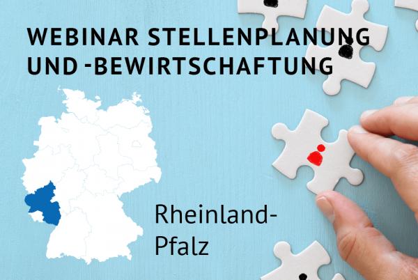 Webinar Stellenplanung und -bewirtschaftung gemäß der Landeshaushaltsordnung (LHO) für Rheinland-Pfalz