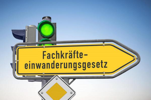 Das Fachkräfteeinwanderungsgesetz und das Gesetz über Duldung bei Ausbildung und Beschäftigung