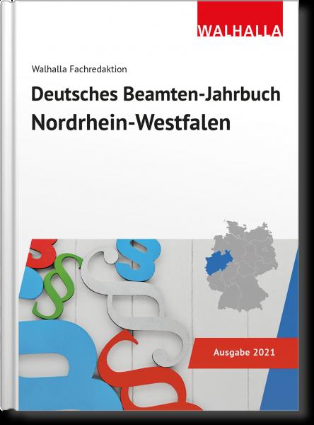 Deutsches Beamten-Jahrbuch Nordrhein-Westfalen 2021