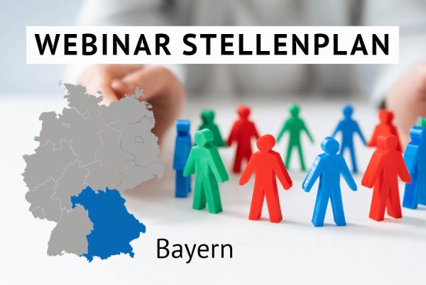 Webinar Der amtliche Stellenplan für Kommunen in Bayern gem. Landesrecht Bayern