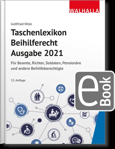 Taschenlexikon Beihilferecht Ausgabe 2021