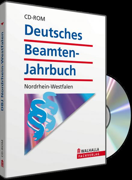 CD-ROM DBJ - Deutsches Beamten-Jahrbuch Nordrhein-Westfalen Datenbank (Grundversion)
