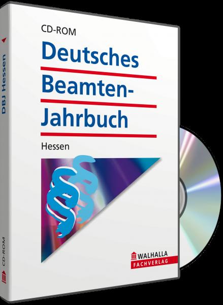 CD-ROM DBJ - Deutsches Beamten-Jahrbuch Hessen Datenbank (Grundversion)