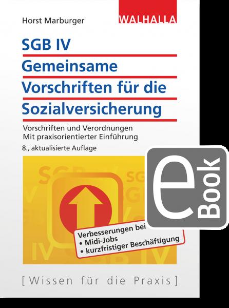 SGB IV - Allgemeine Vorschriften für die Sozialversicherung