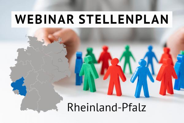 Webinar Der amtliche Stellenplan für Kommunen in Rheinland-Pfalz gem. Landesrecht Rheinland-Pfalz
