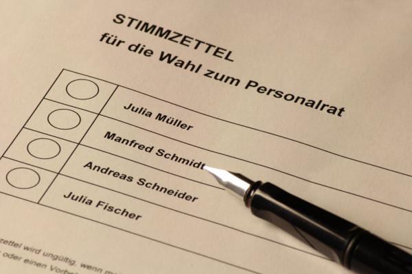 Personalratswahl 2021: Wahlvorstandsschulung