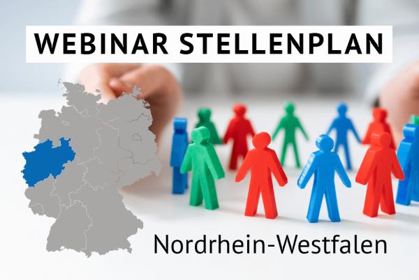 Webinar Der amtliche Stellenplan für Kommunen in Nordrhein-Westfalen gem. Landesrecht NRW