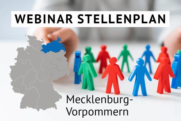 Webinar Der amtliche Stellenplan für Kommunen in Mecklenburg-Vorpommern gem. Landesrecht Mecklenburg-Vorpommern