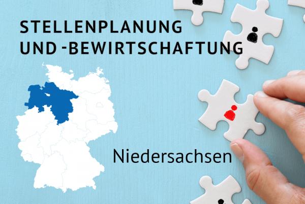 Stellenplanung und -bewirtschaftung gemäß der Landeshaushaltsordnung für Niedersachsen