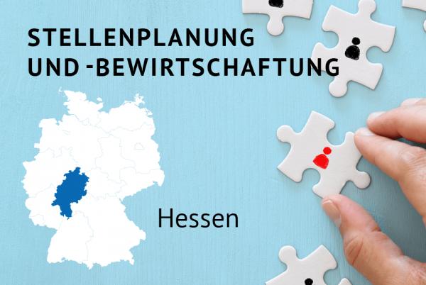Stellenplanung und -bewirtschaftung gemäß der Landeshaushaltsordnung für Hessen