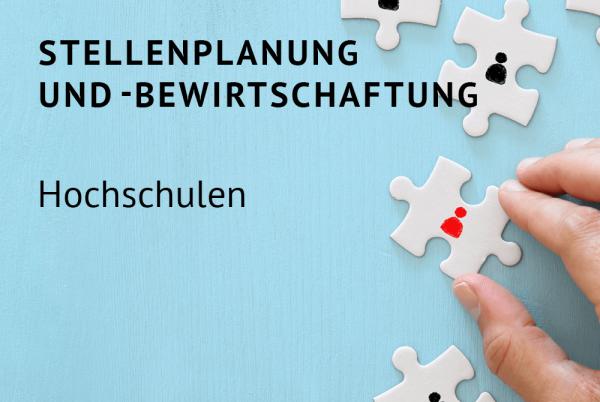 Stellenplanung und -bewirtschaftung für Hochschulen nach der Landeshaushaltsordnung (LHO)