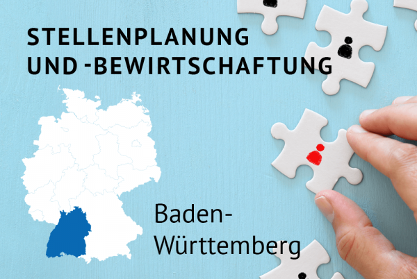 Stellenplanung und -bewirtschaftung gemäß der Landeshaushaltsordnung für Baden-Württemberg