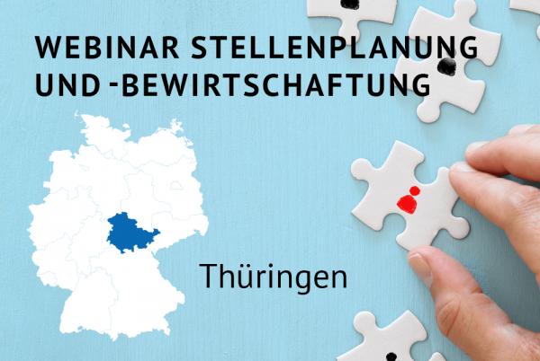 Webinar Stellenplanung und -bewirtschaftung gemäß der Thüringer Landeshaushaltsordnung (ThürLHO)