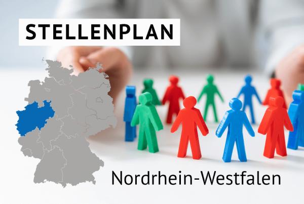 Der amtliche Stellenplan für Kommunen in Nordrhein-Westfalen unter Anwendung landesspezifischer Regelungen