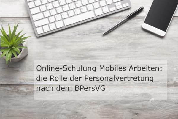Webinar Mobiles Arbeiten: die Rolle der Personalvertretung