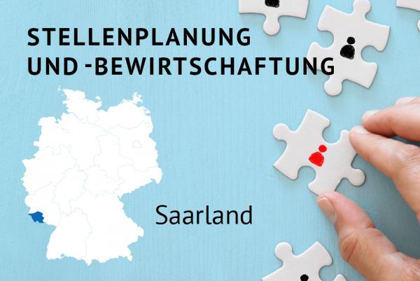 Stellenplanung und -bewirtschaftung gem. der Landeshaushaltsordnung des Saarlandes (LHO)