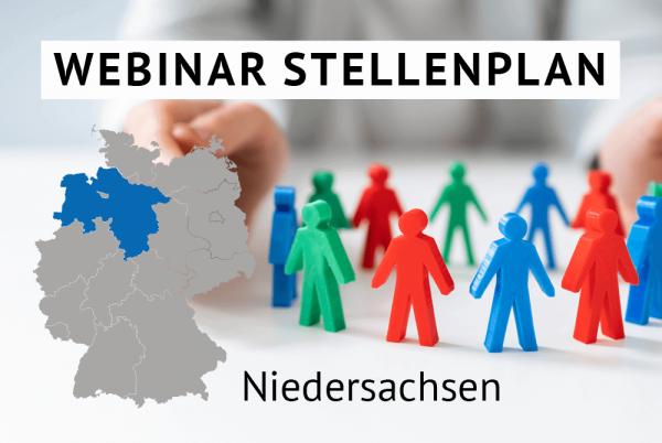 Webinar Der amtliche Stellenplan für Kommunen in Niedersachsen gem. Landesrecht Niedersachsen
