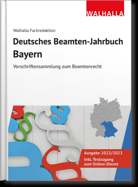 Deutsches Beamten-Jahrbuch Bayern 2022