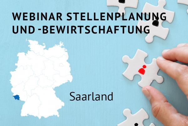 Webinar Stellenplanung und -bewirtschaftung gemäß der Landeshaushaltsordnung (LHO) für das Saarland