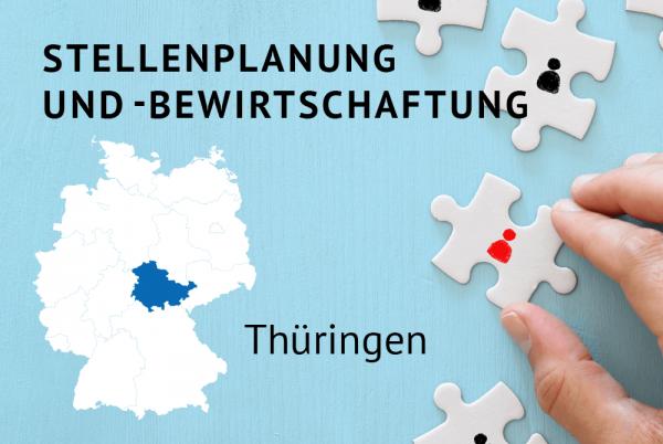 Stellenplanung und –bewirtschaftung gem. der Landeshaushaltsordnung Thüringen (ThürLHO)