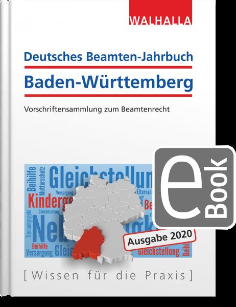 Deutsches Beamten-Jahrbuch Baden-Württemberg Jahresband 2020