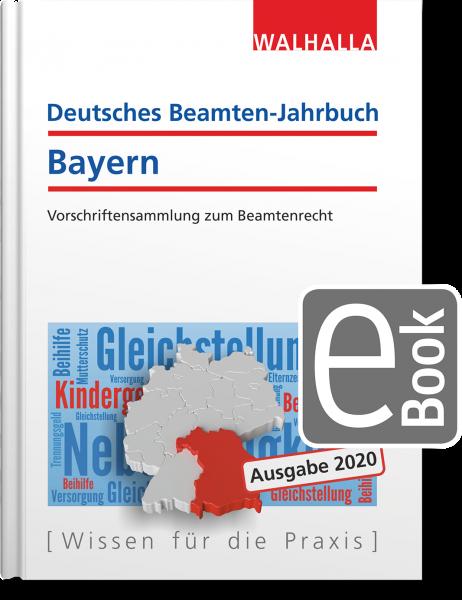 Deutsches Beamten-Jahrbuch Bayern Jahresband 2020