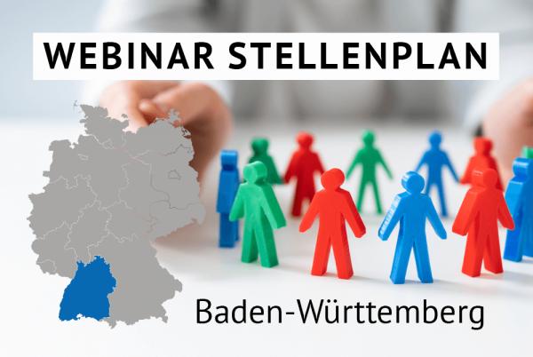 Webinar Der amtliche Stellenplan für Kommunen in Baden-Württemberg gem. Landesrecht Baden-Württemberg