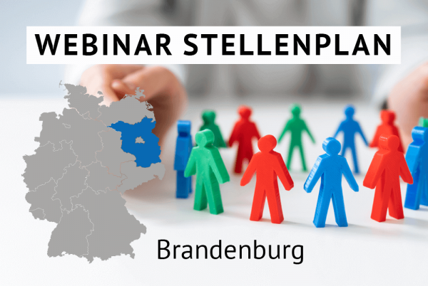 Webinar Der amtliche Stellenplan für Kommunen in Brandenburg gem. Landesrecht Brandenburg