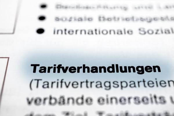 Webinar Überblick über Ergebnisse der Tarifverhandlung