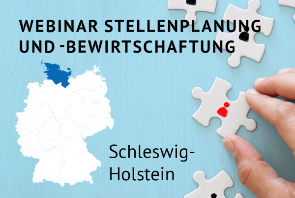 Webinar Stellenplanung und -bewirtschaftung gemäß der Landeshaushaltsordnung (LHO) für Schleswig-Holstein